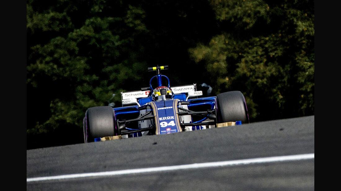 Pascal Wehrlein - Sauber - Formel 1 - GP Belgien - Spa-Francorchamps - 26. August 2017