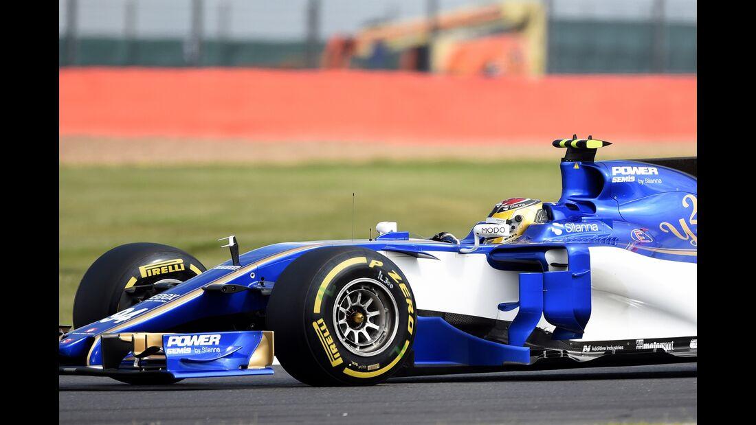 Pascal Wehrlein - Sauber - Formel 1 - GP England - 14. Juli 2017