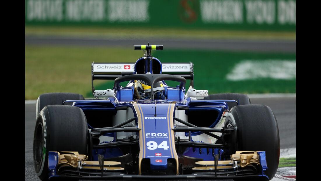 Pascal Wehrlein - Sauber - Formel 1 - GP Italien - Monza - 1. September 2017