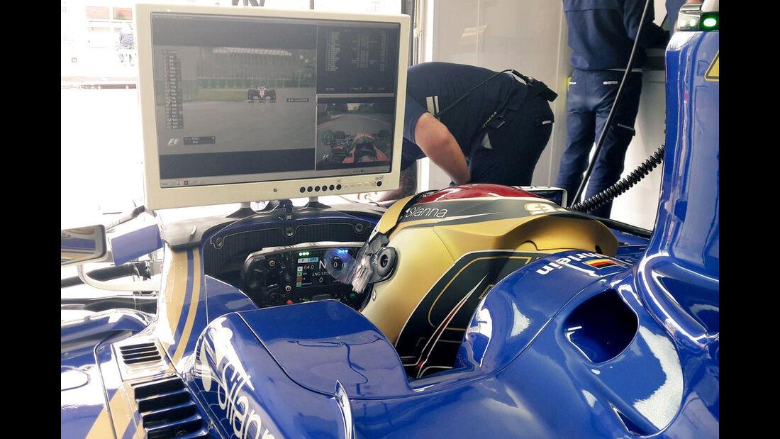 Pascal  Wehrlein - Sauber - Formel 1 - GP Kanada - Montreal - 9. Juni 2017