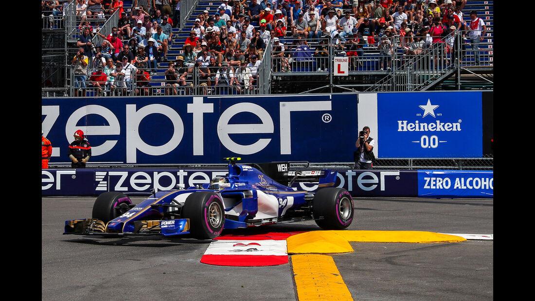 Pascal Wehrlein - Sauber - Formel 1 - GP Monaco - 25. Mai 2017