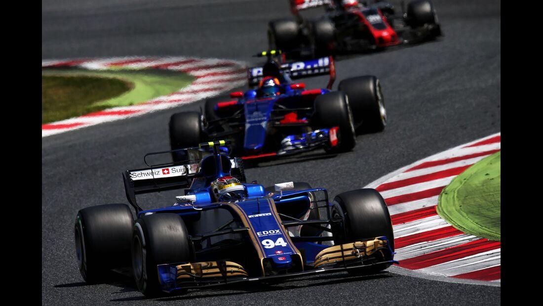 Pascal Wehrlein - Sauber - Formel 1 - GP Spanien - 14. Mai 2017