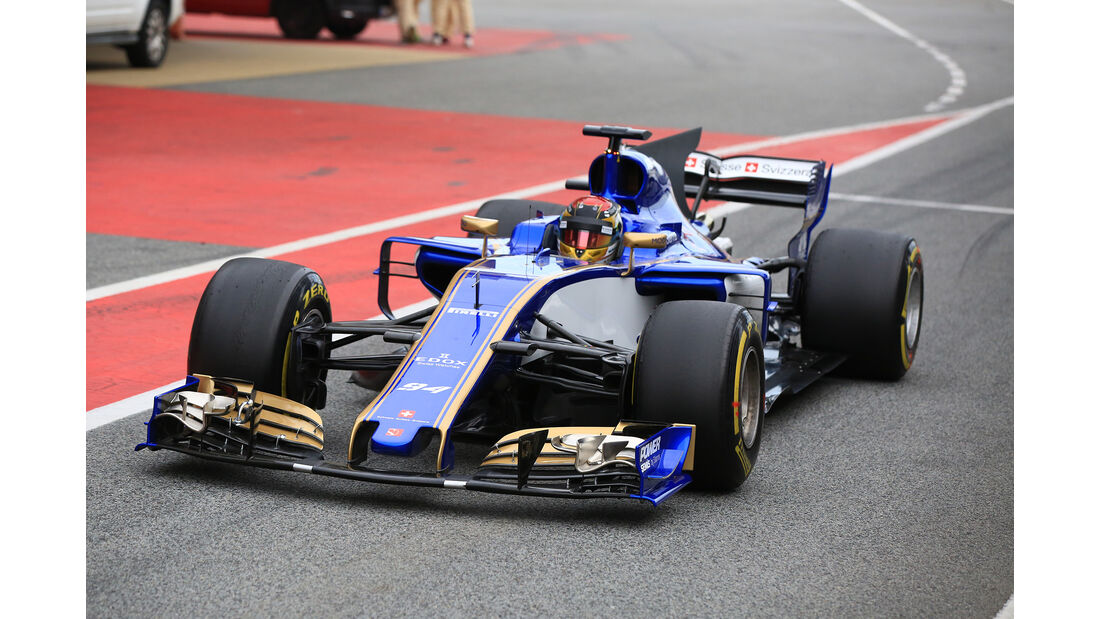 Pascal Wehrlein - Sauber - Formel 1 - Test - Barcelona - 8. März 2017