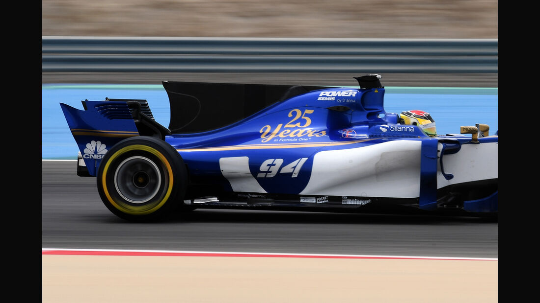 Pascal Wehrlein - Sauber - GP Bahrain 2017