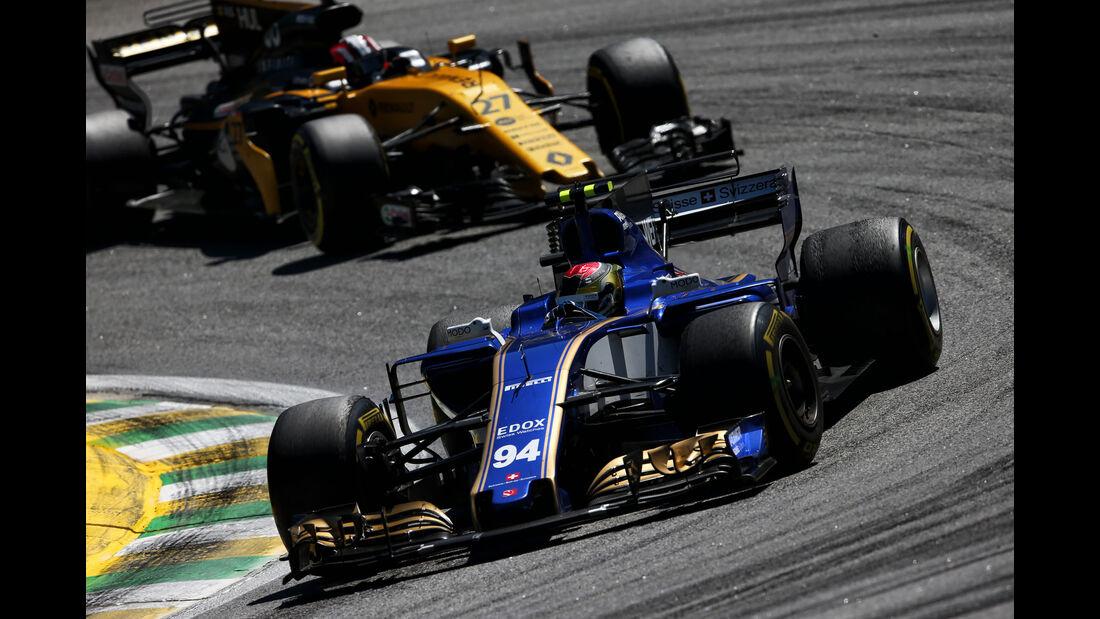 Pascal Wehrlein - Sauber - GP Brasilien 2017