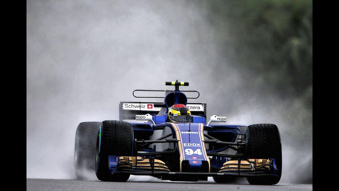Pascal Wehrlein - Sauber - GP Malaysia - Sepang - 29. Oktober 2017