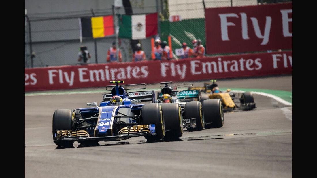 Pascal Wehrlein - Sauber - GP Mexiko 2017 - Rennen