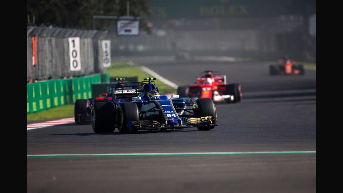 Pascal Wehrlein - Sauber - GP Mexiko - Formel 1 - Freitag - 27.10.2017