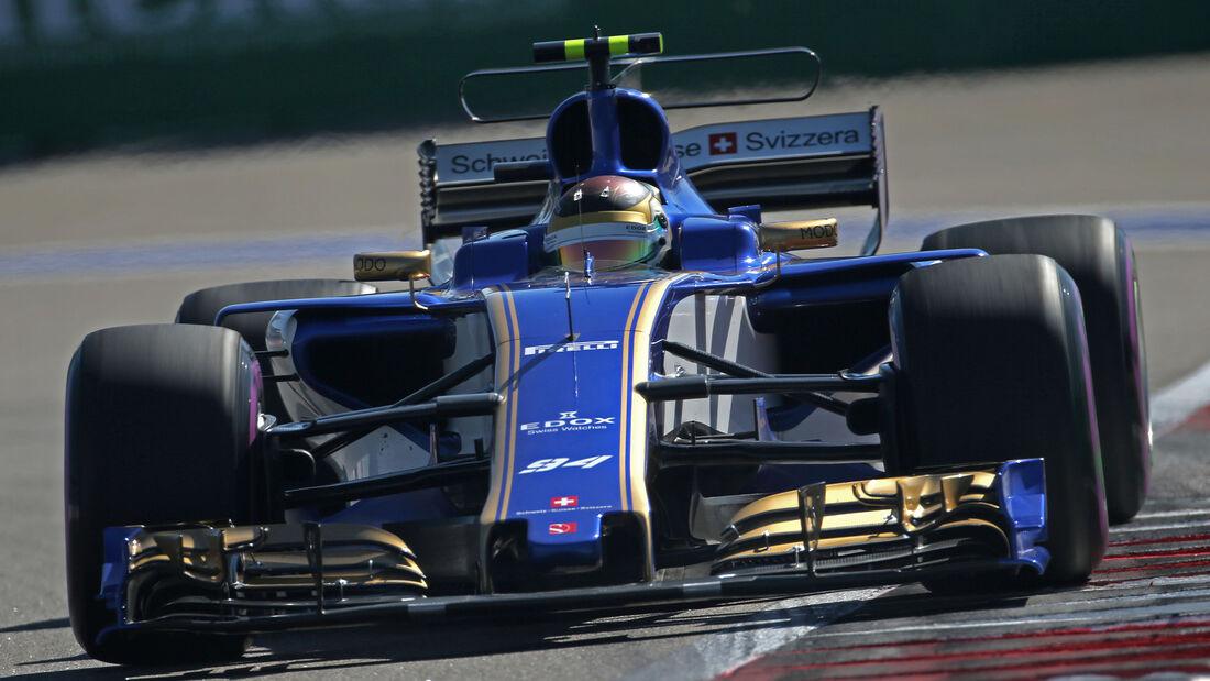 Pascal Wehrlein - Sauber - GP Russland 2017
