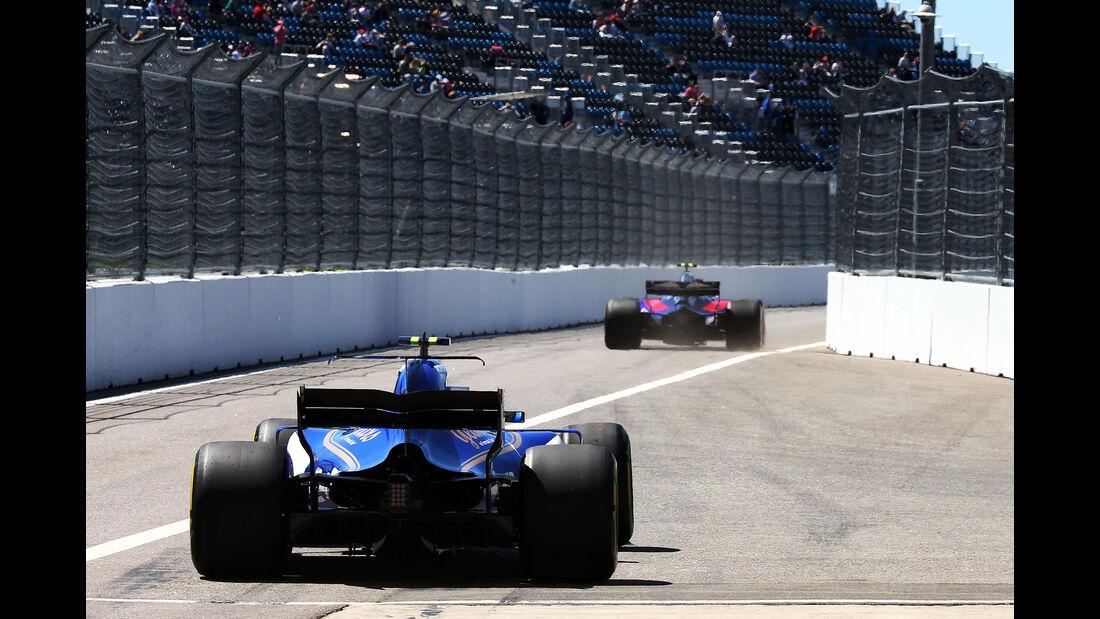 Pascal Wehrlein - Sauber - GP Russland - Sotschi  - Formel 1 - 28. April 2017