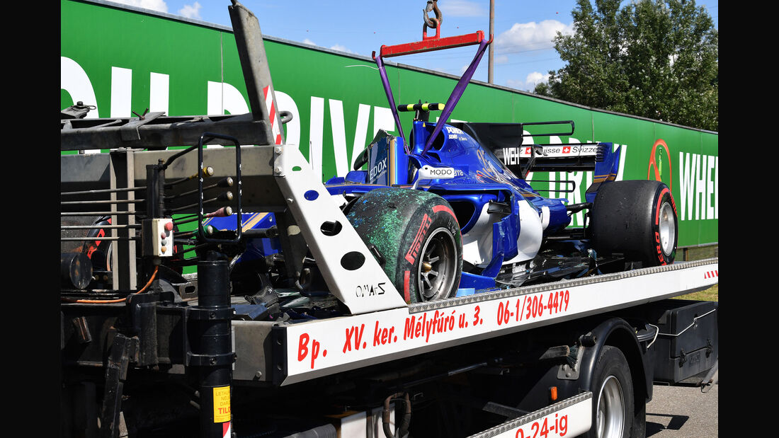 Pascal Wehrlein - Sauber - GP Ungarn - Budapest - Freitag - 28.7.2017