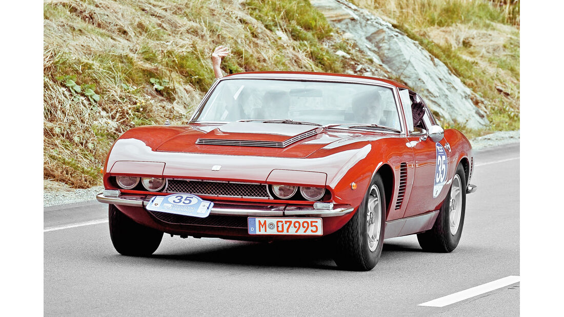 Passione Engadina, Alexander Wiesner, Iso Rivolta Grifo Can-Am, 1971