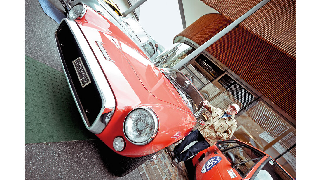 Passione Engadina, Helmut Wanke, Fiat 1500 Ghia Coupé, 1963