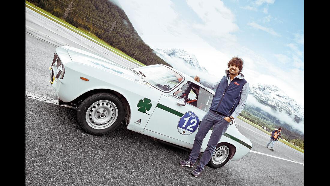 Passione Engadina, Ronnie Kessel, Alfa Romeo GTA, 1965