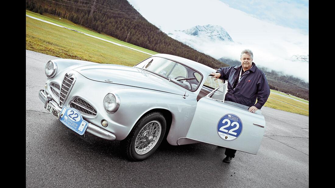 Passione Engadina, Thomas Suter, Alfa Romeo 1900 C Sprint Touring, 1953