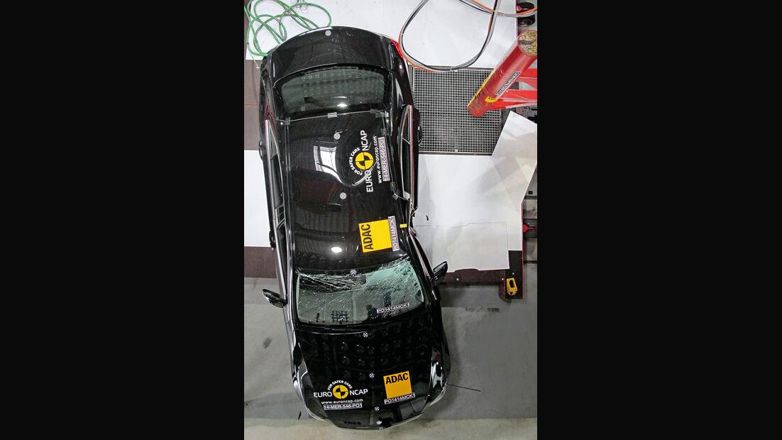 Passive Sicherheit, Crashtest, Impression