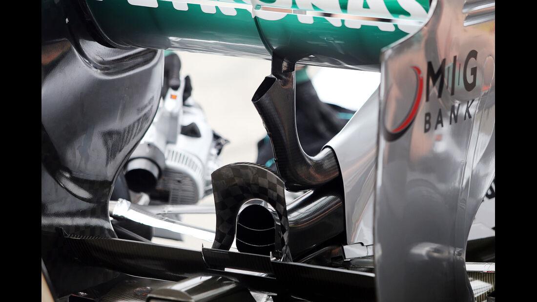 Passives DRS Mercedes 2013