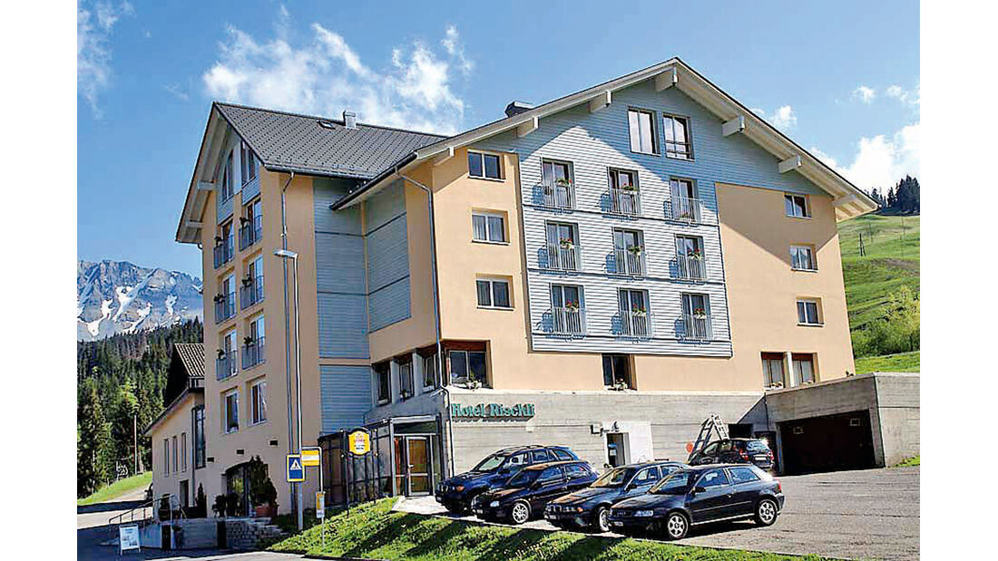 Passstraßen, Hotel Rischli