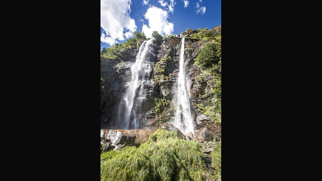 Passstraßen, Wasserfall, Borgonuova