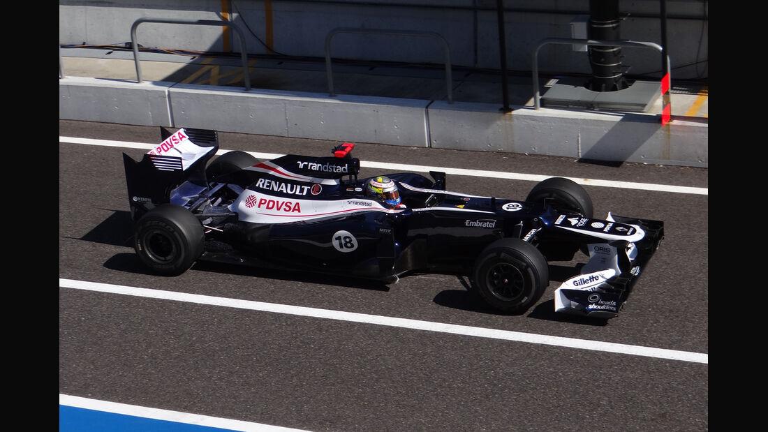 Pastor Maldonadao - Williams - Formel 1 - GP Japan - Suzuka - 5. Oktober 2012