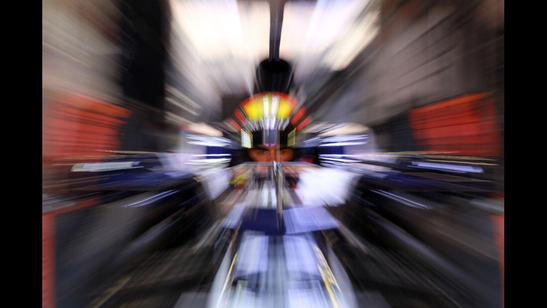Pastor Maldonado - F1-Test - Barcelona 2012