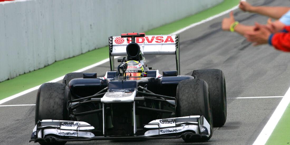Pastor Maldonado Formel 1 2012