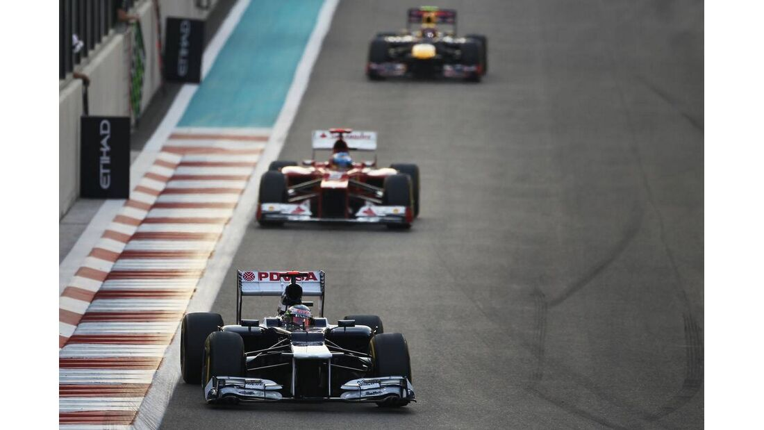 Pastor Maldonado  - Formel 1 - GP Abu Dhabi - 04. November 2012