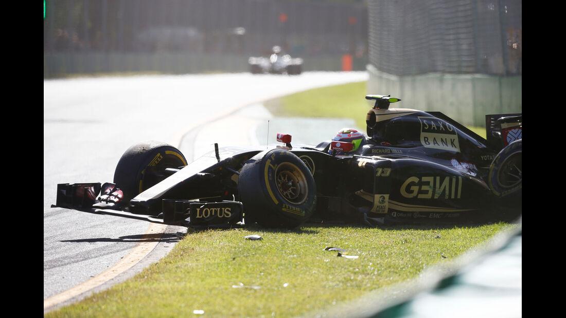 Pastor Maldonado - Formel 1 - GP Australien 2015