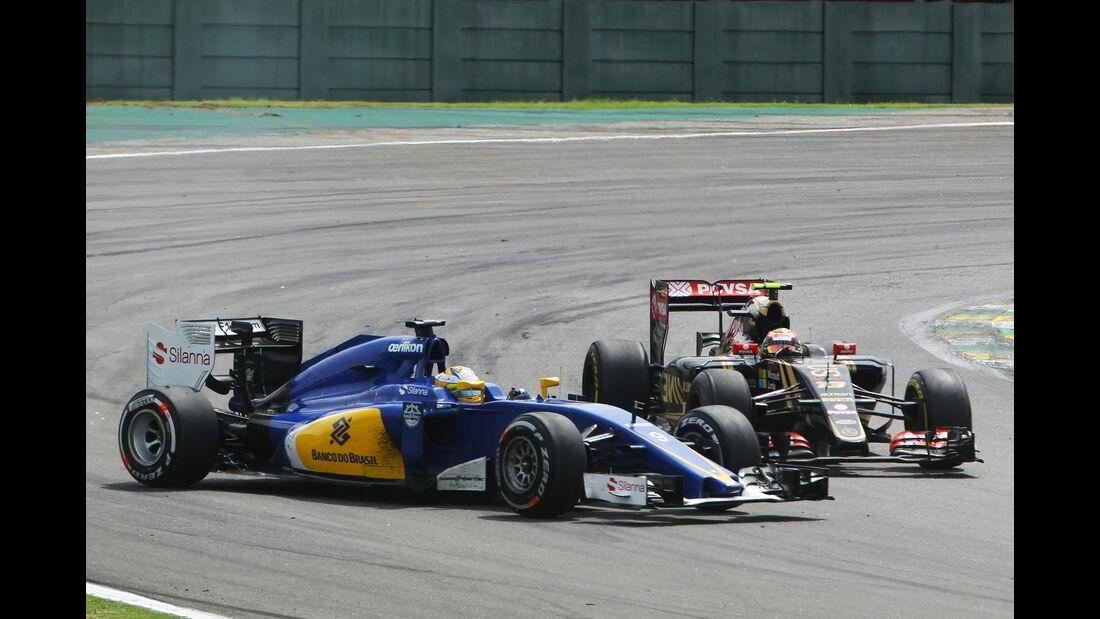 Pastor Maldonado - Formel 1 - GP Brasilien 2015