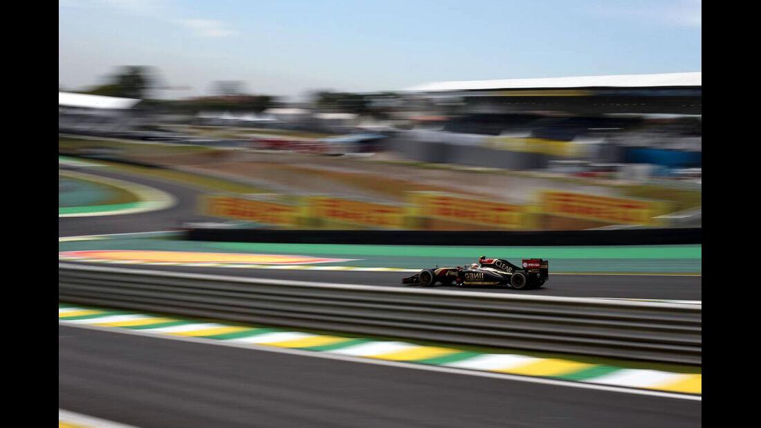 Pastor Maldonado - Formel 1 - GP Brasilien- 7. November 2014