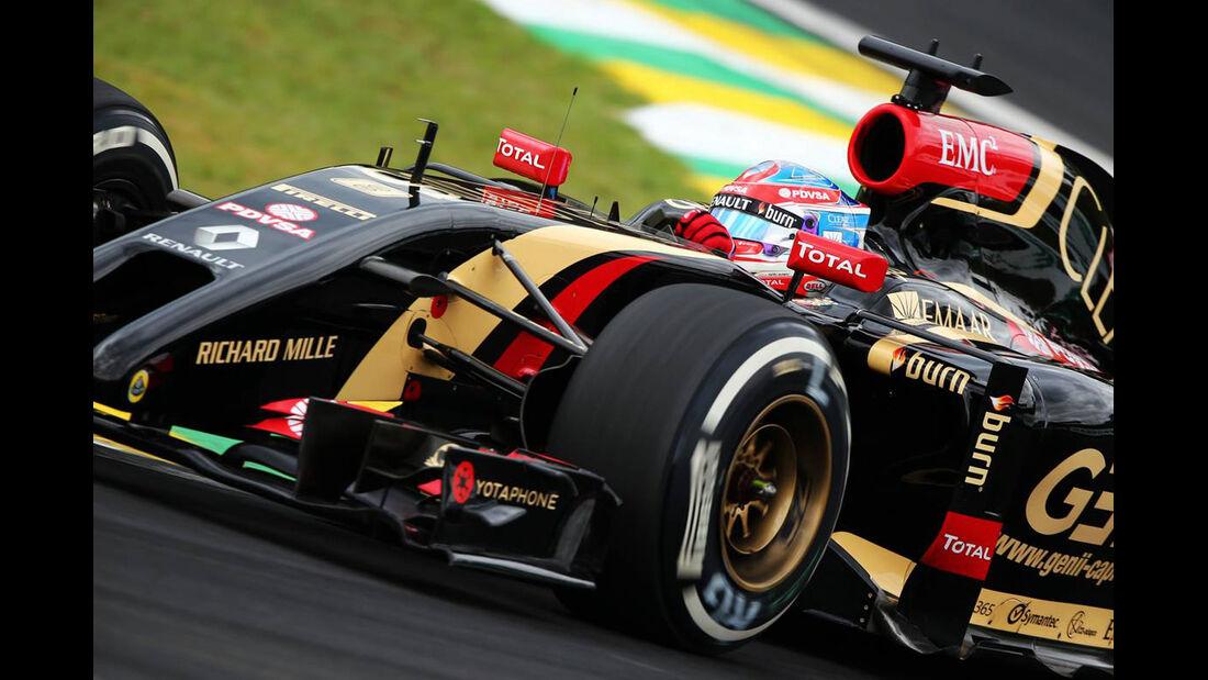 Pastor Maldonado - Formel 1 - GP Brasilien - 8. November 2014