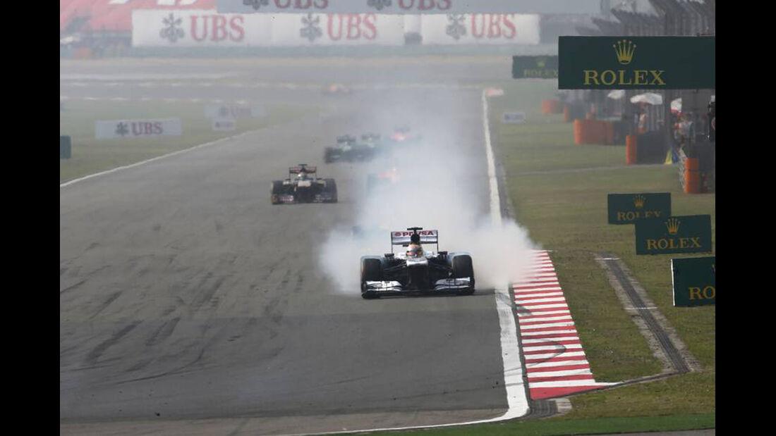Pastor Maldonado - Formel 1 - GP China - 14. April 2013