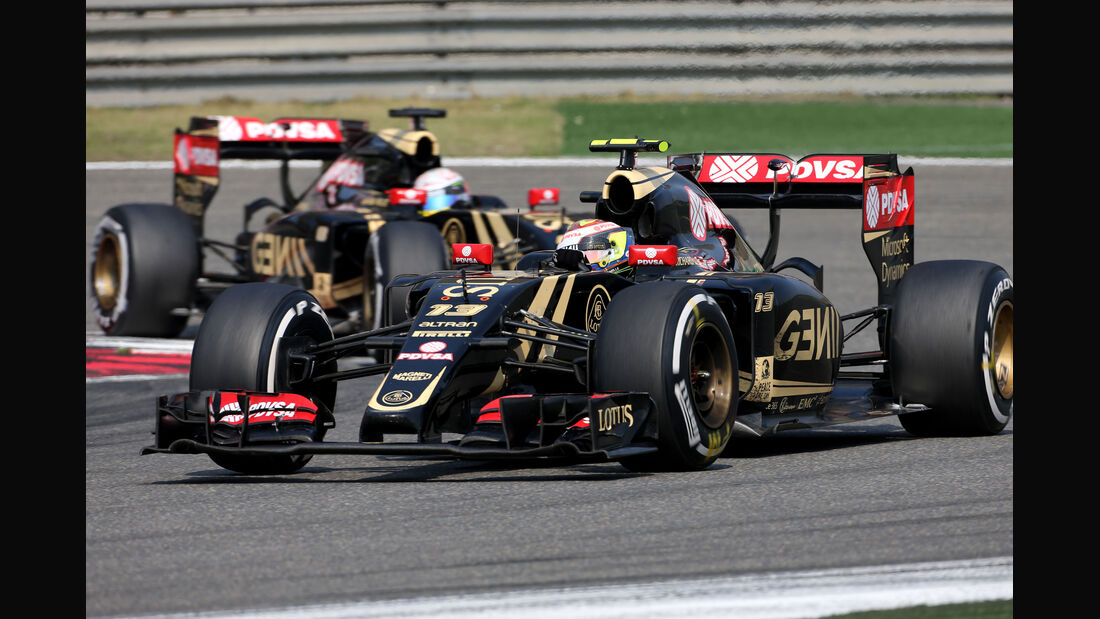 Pastor Maldonado - Formel 1 - GP China 2015