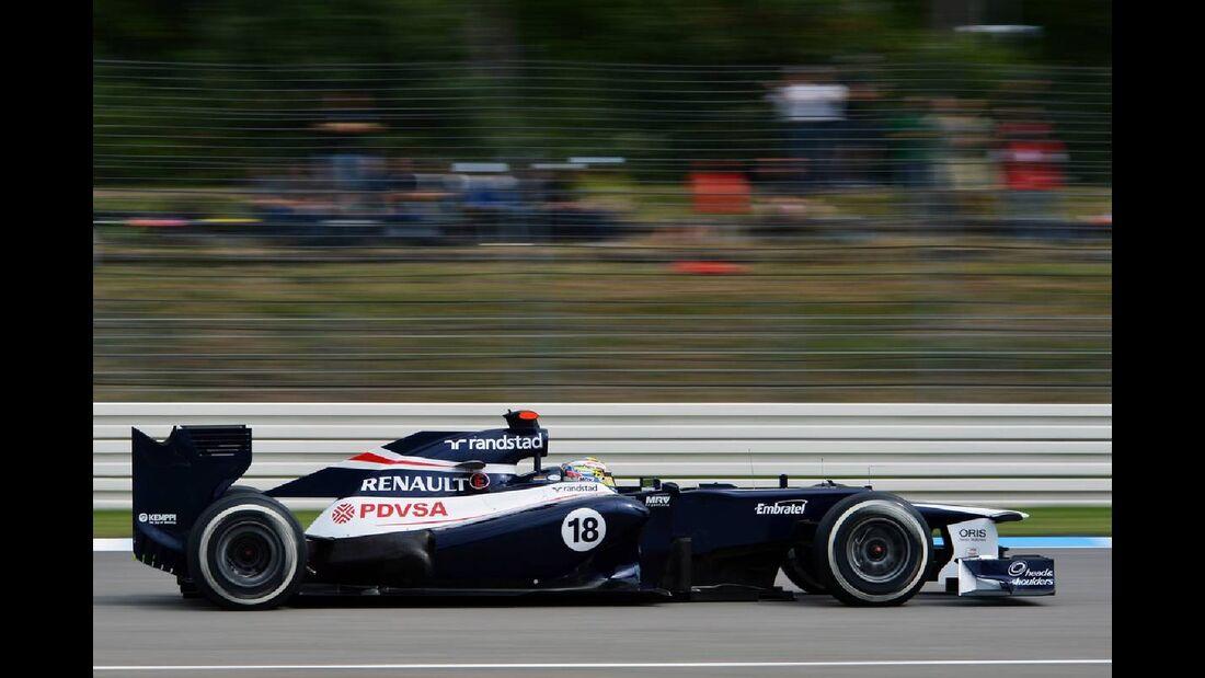 Pastor Maldonado - Formel 1 - GP Deutschland - 21. Juli 2012