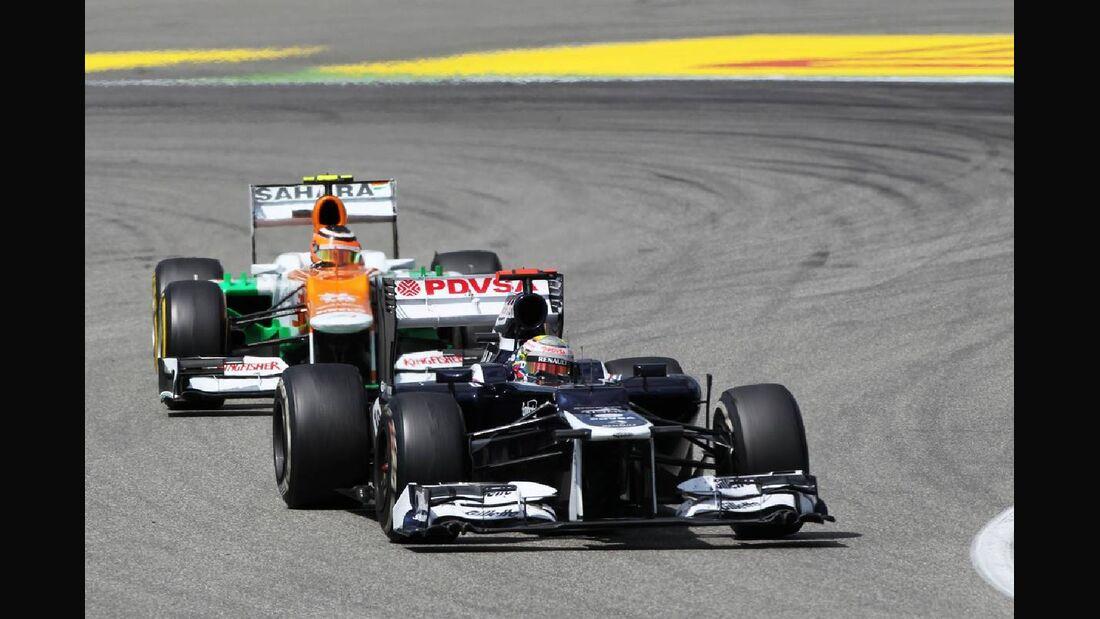 Pastor Maldonado - Formel 1 - GP Deutschland - 22. Juli 2012