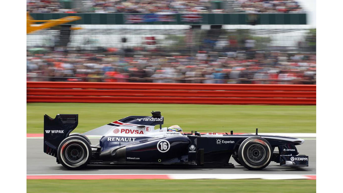 Pastor Maldonado - Formel 1 - GP England - 29. Juni 2013