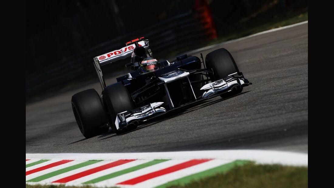 Pastor Maldonado - Formel 1 - GP Italien - 07. September 2012