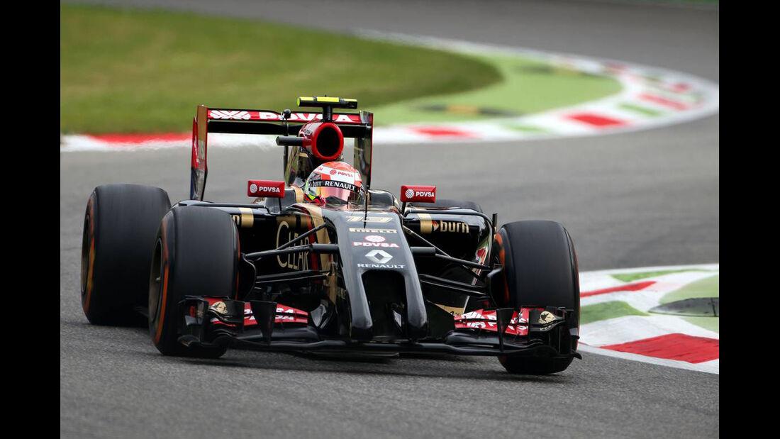 Pastor Maldonado   - Formel 1 - GP Italien - 5. September 2014