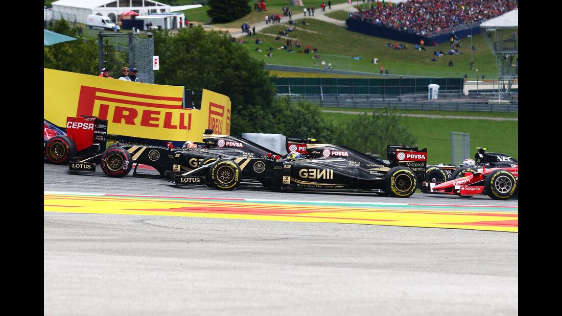 Pastor Maldonado - Formel 1 - GP Österreich 2015