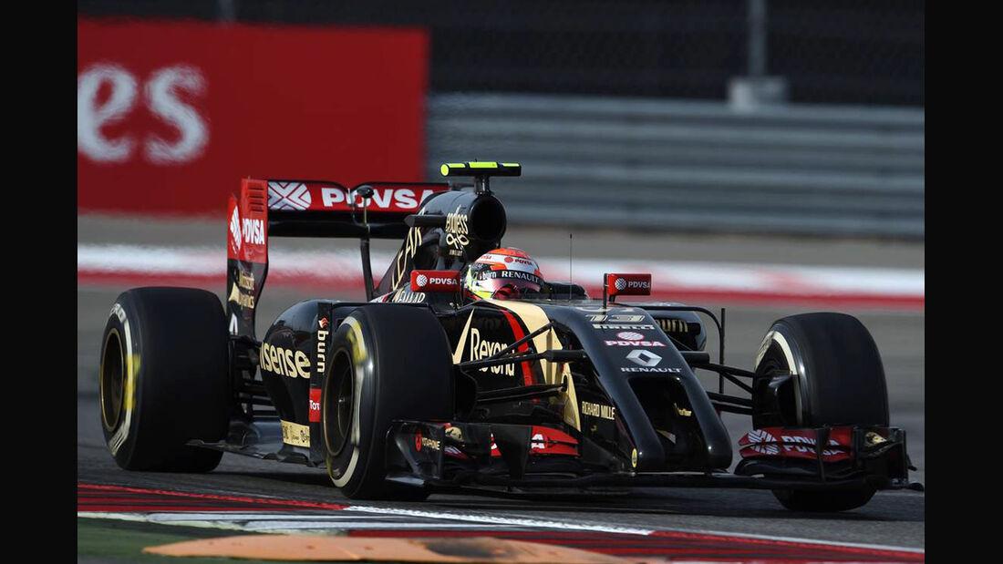 Pastor Maldonado - Formel 1 - GP USA - 2. November 2014