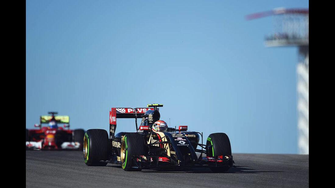 Pastor Maldonado  - Formel 1 - GP USA - 31. Oktober 2014