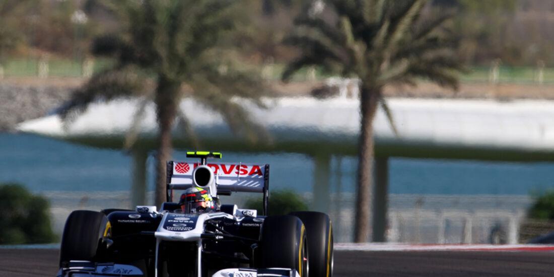 Pastor Maldonado GP Abu Dhabi 2011