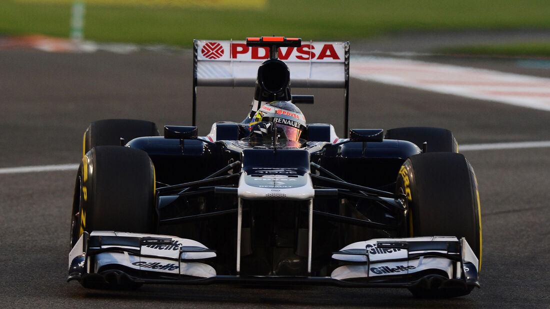 Pastor Maldonado GP Abu Dhabi 2012