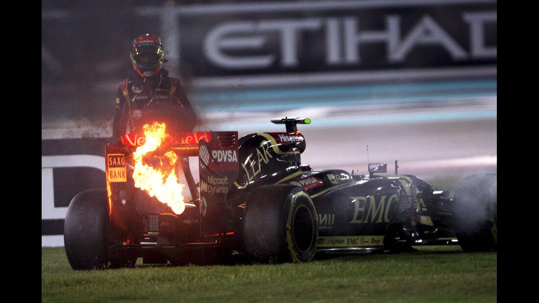 Pastor Maldonado - GP Abu Dhabi 2014 - Formel 1 - Tops & Flops