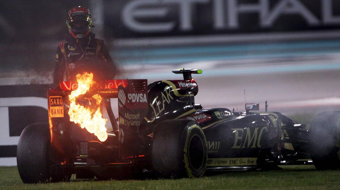 Pastor Maldonado - GP Abu Dhabi 2014