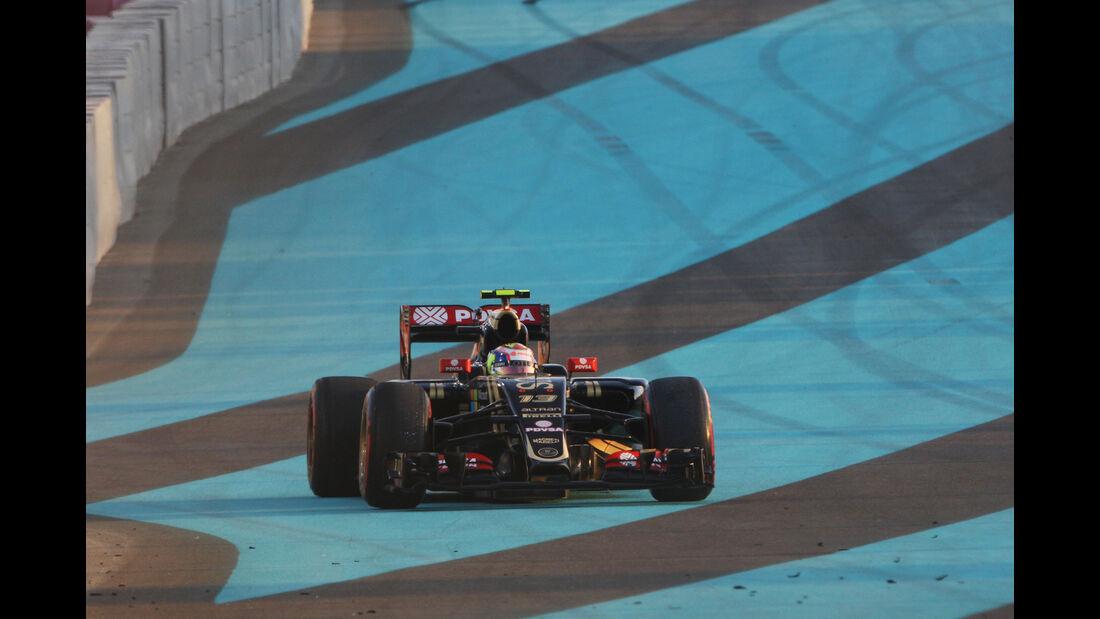 Pastor Maldonado - GP Abu Dhabi 2015