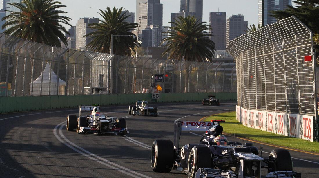 Pastor Maldonado GP Australien 2012