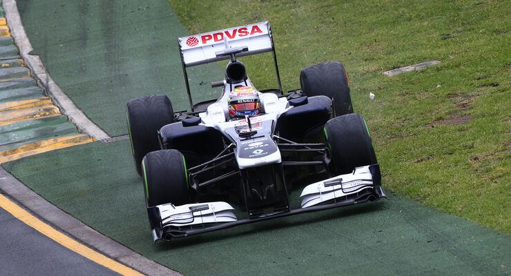 Pastor Maldonado GP Australien 2013