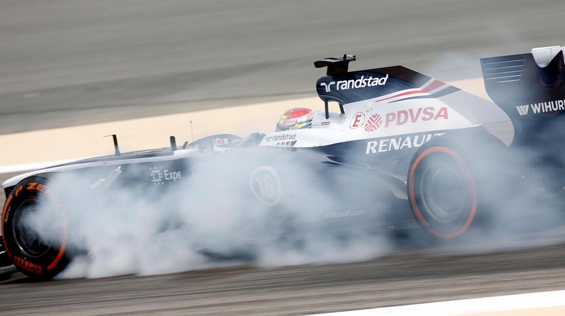 Pastor Maldonado - GP Bahrain 2013