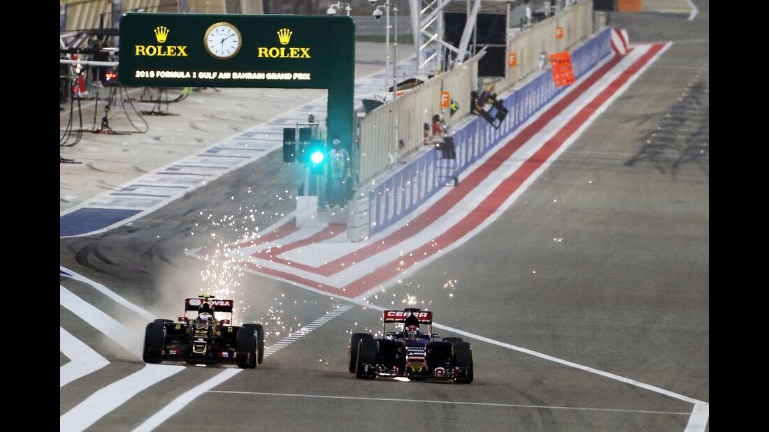 Pastor Maldonado - GP Bahrain 2015